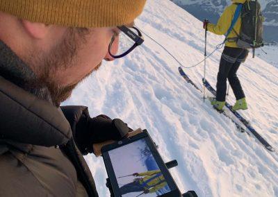 Filmproduktion Basel in den Bergen