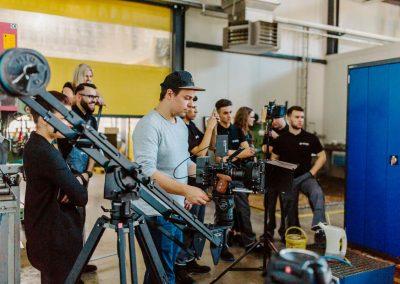 Filmproduktion - Isenseefilm bei der Arbeit