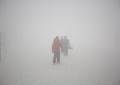 Im Schnee - Filmproduzenten aus Basel