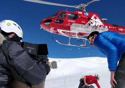 Hubschrauber Filmproduktion Basel